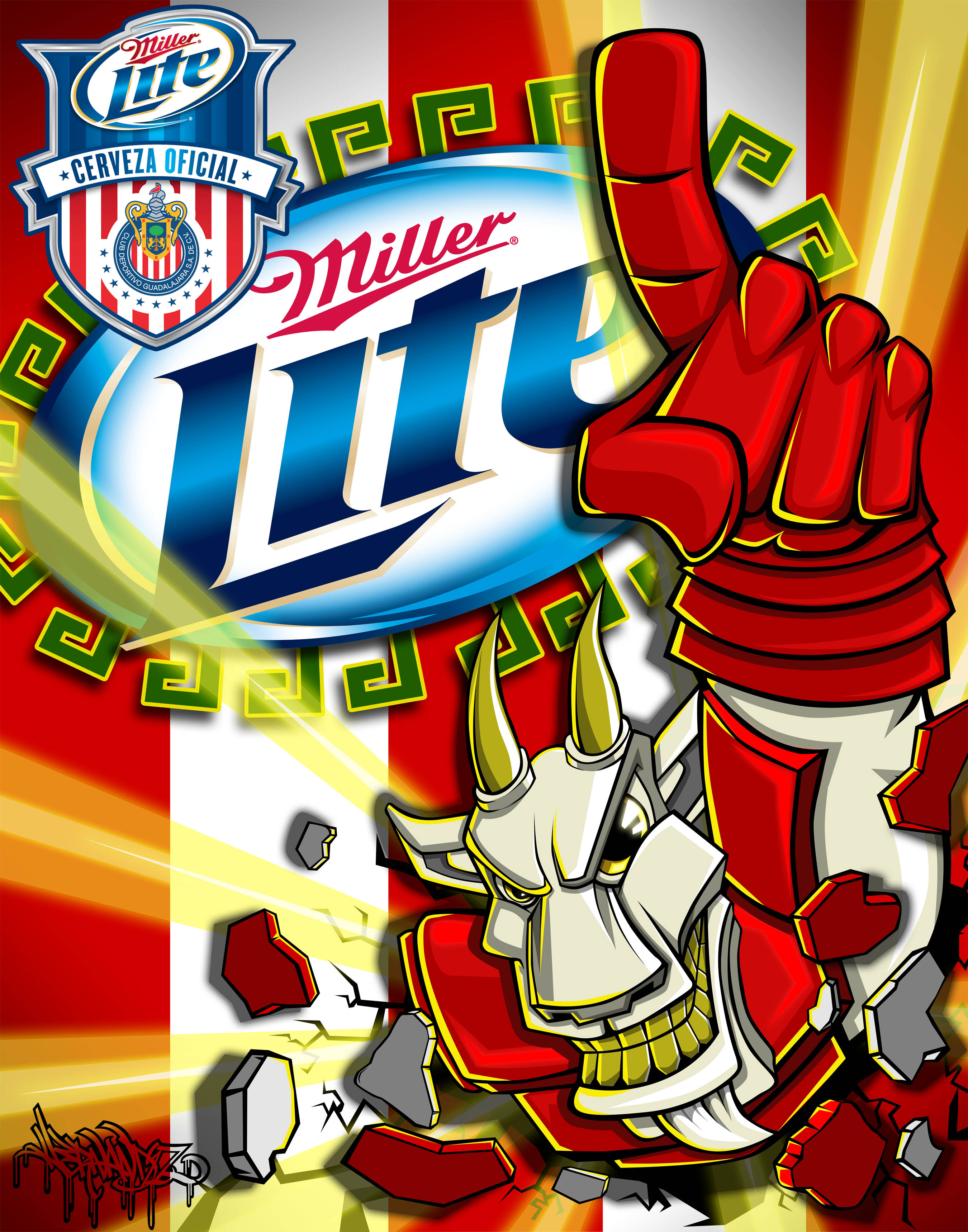 Vote Hernandez In The Miller Lite X Chivas Expresa Tu