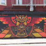 """Camatl Coatl"" Collaboration Piece with @MArka27 at the Galeria de la Raza San Francisco 2011"