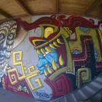 """Quetzalcoatl""  with @OGCHINO@ Jamieson Ranch Vineyards Napa, CA 2014"